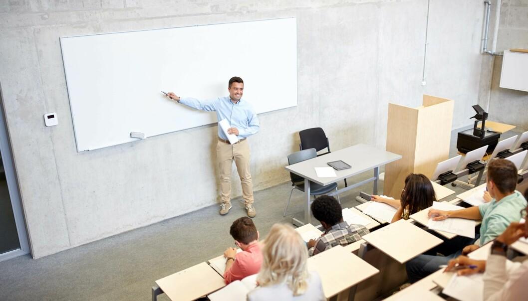 STUDENTER: Det er ikke bare grunnskoleelever som presterer dårligere med dårligere inneklima, viser ny forskning.