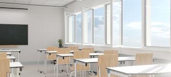 Mer luft holder elevene friskere