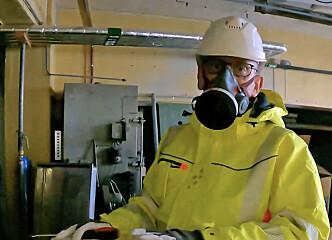 Asbestødeleggelser for millioner etter rørleggerarbeid