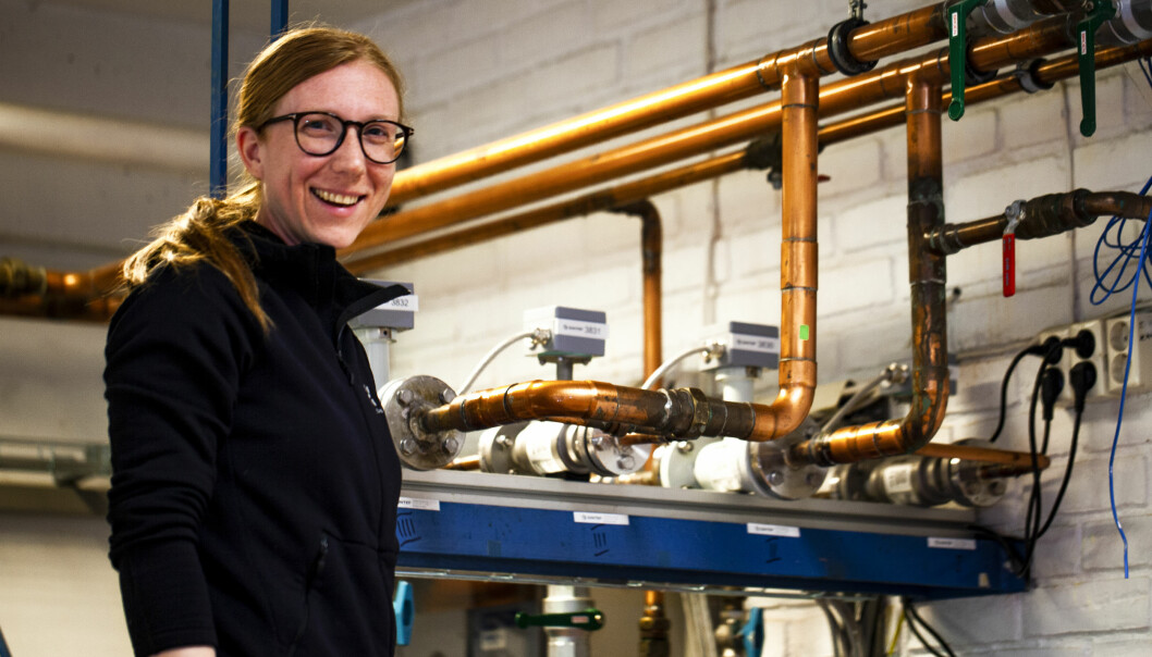 SIRKULÆRT: Karolina Stråby i Sintef mener rørfornying har en plass i en sirkulær økonomi.