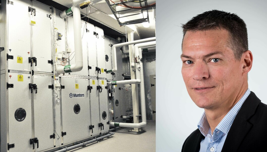 KJØLING: Sorptiv kjøling er en viktig del av grunnen til at Munters bygger opp eget selskap i Norge, forteller Anders Wahlberg.