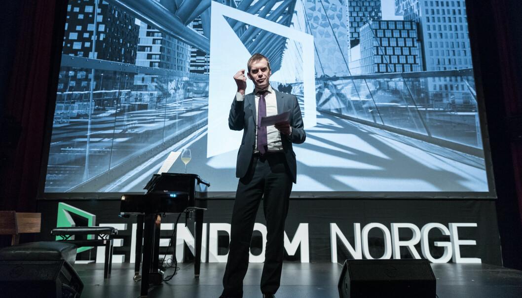 OLJE: Når oljen presser opp lønningene, må rørleggerne hentes fra andre land, beskriver Erling Røed Larsen.