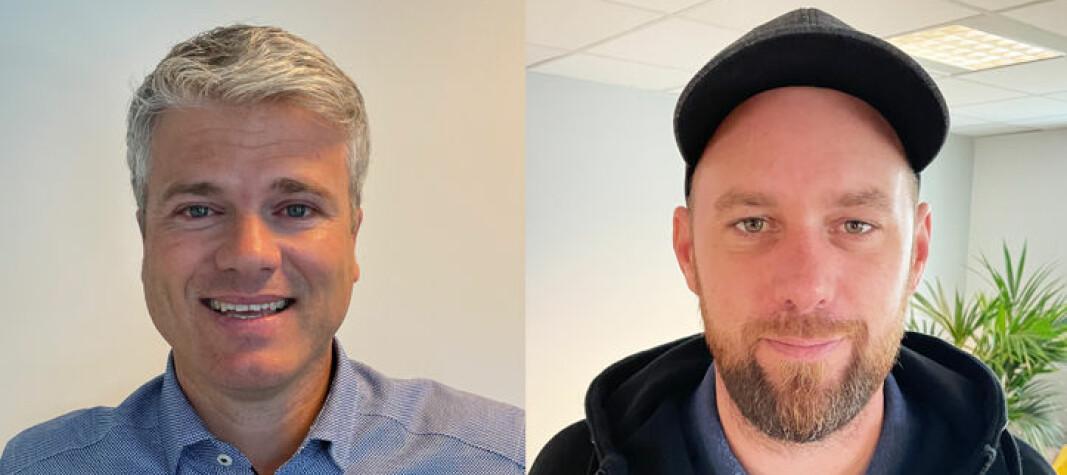 ANSATT: Tormod Andre Gusfre ( til venstre) og Torstein Olsen.