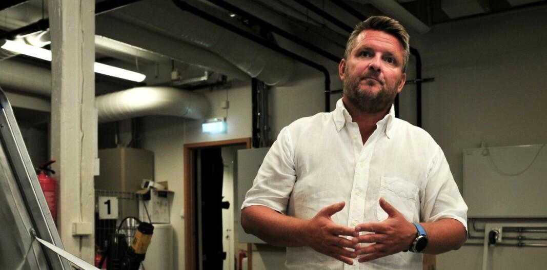 VIL HA AKTØRER SOM BIDRAR: Morten Husa leder Rørentreprenørene i Bergen og sier at de er opptatt av videreutvikling av næringen og da trenger de aktører som tar vare på og ansetter rørleggere.