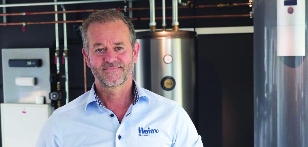 FØRE VAR: Høiax-sjef, Thomas Buskoven, forteller at de reagerte raskt og slik sikret seg tilgang på materialer.