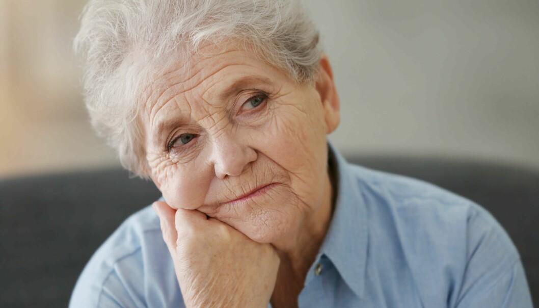 ALDERSFORSKJELL: Jo eldre befolkningen blir, jo større blir problemet med tørr luft.