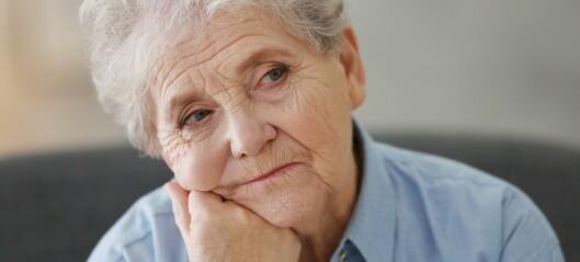 Eldre sliter mer med tørr luft