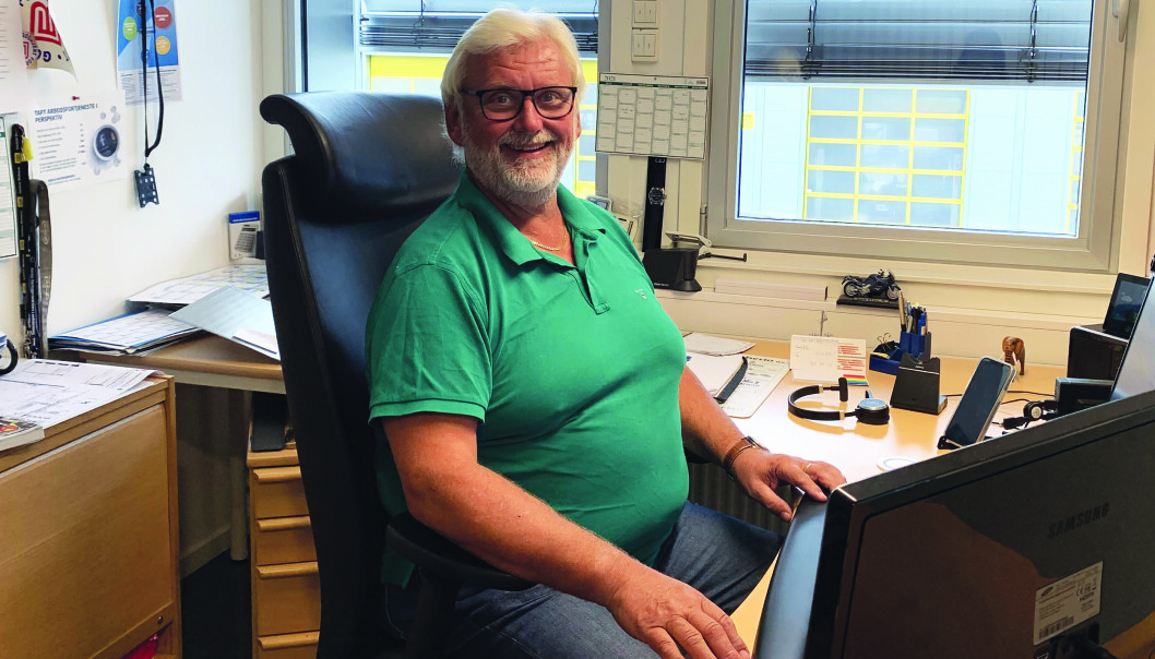 RØRUTDANNING: – Vi er stolt av å utdanne høyt kvalifiserte fagarbeidere, sier Helge Andersen, leder av Rørentreprenørenes opplæringskontor i Oslo.