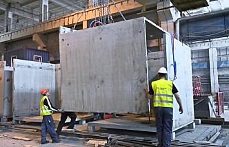 Snakker varmt for betongkabiner