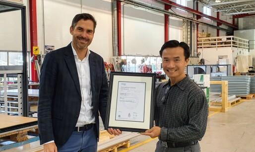 Systemair har blitt ISO-sertifisert