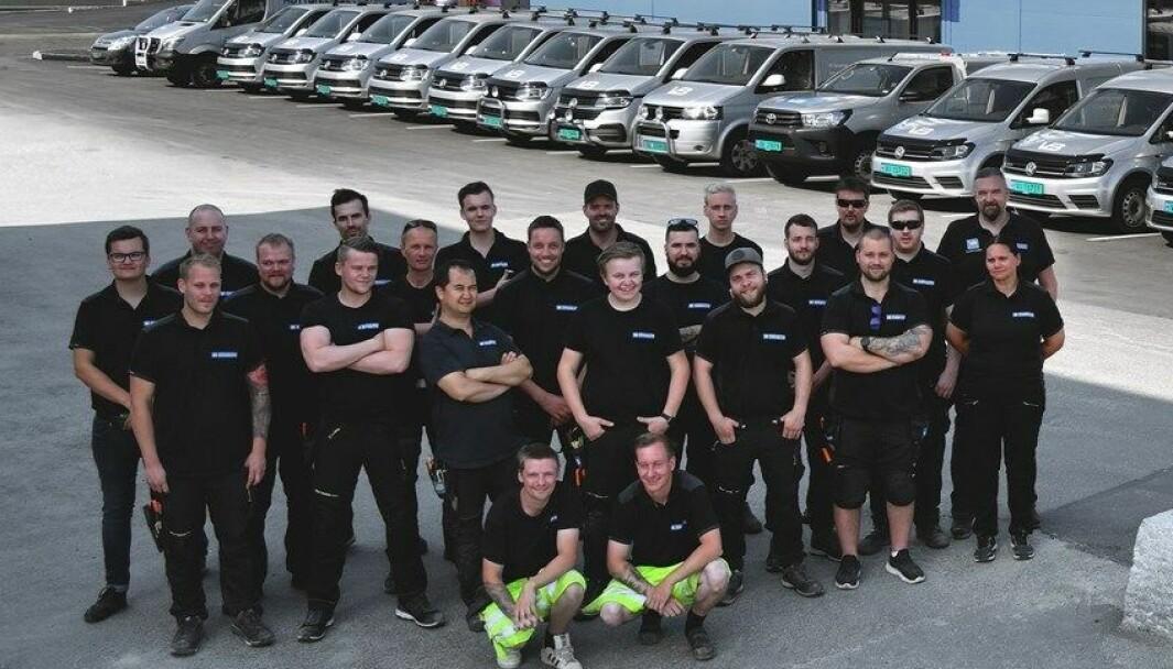 H Granbo VVS er en familiebedrift med 28 ansatte som jobber med det meste innen VVS.