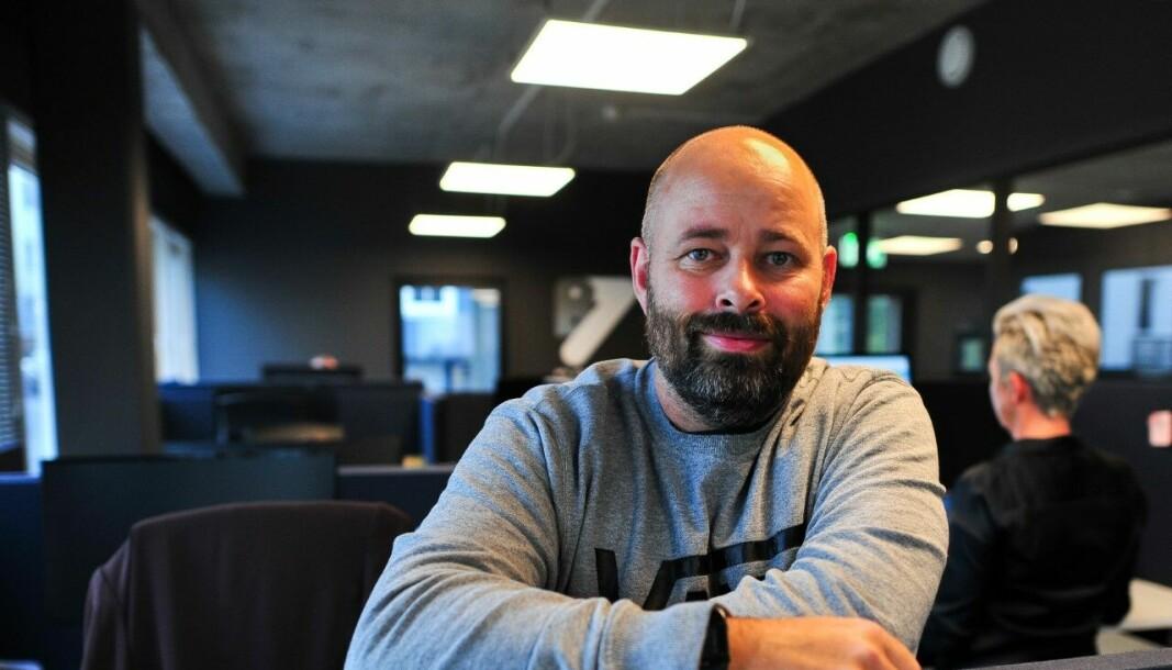 TRENGER FOLK: Christian Arnesen i B7 People forteller at de har stort behov for flinke rørleggere.