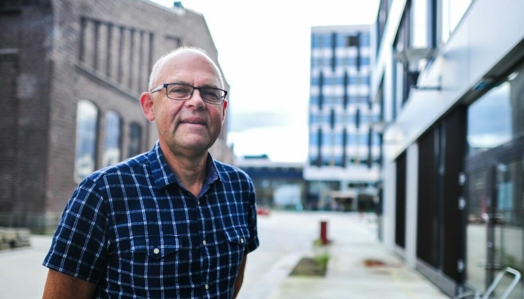 VIL IKKE RIVE: Dersom Fylkesbygg-planene hadde kommet om fem år, så tror ikke tidligere høgskolerektor, Ole-Gunnar Søgnen, at Fylkesbygget i Bergen ville blitt revet.