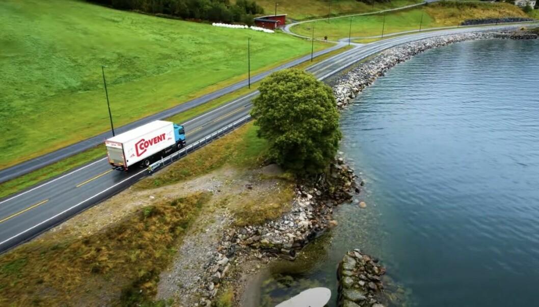 VAKKERT: Et roadshow i Norge betyr ikke bare gode samtaler med kunder, et betyr også mange storslåtte naturopplevelser.